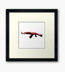 AK-47 Pop Art Framed Print