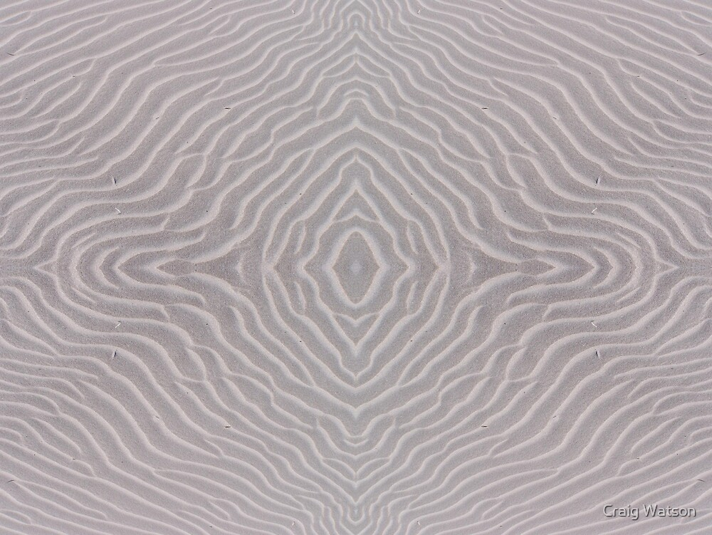 Ripples in the Sand - Kaleidoscope #1 by Craig Watson