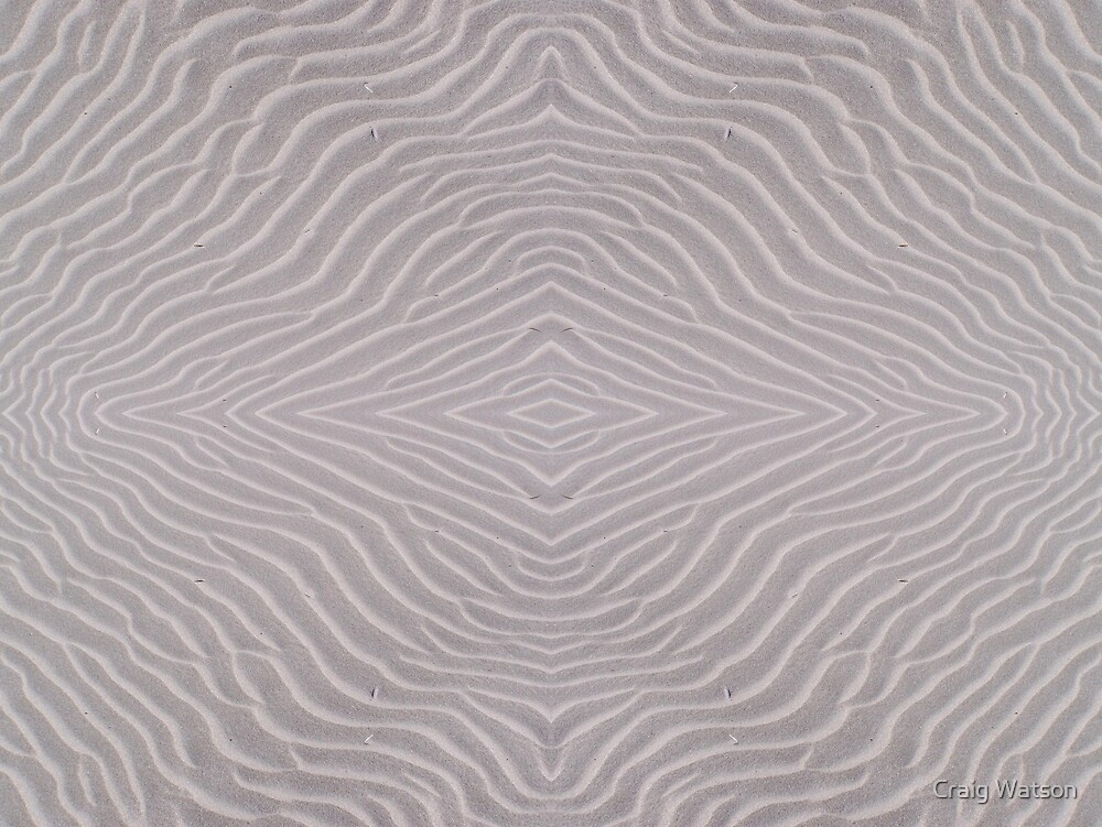 Ripples in the Sand - Kaleidoscope #2 by Craig Watson