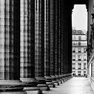 Perpendicular Perspective - Paris France by Norman Repacholi