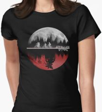 Stranger Things Women's Fitted T-Shirt
