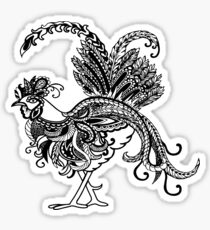 Gorgeous rooster Sticker