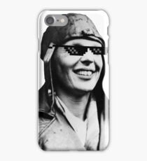 Amelia Earhart Deal With It iPhone Case/Skin