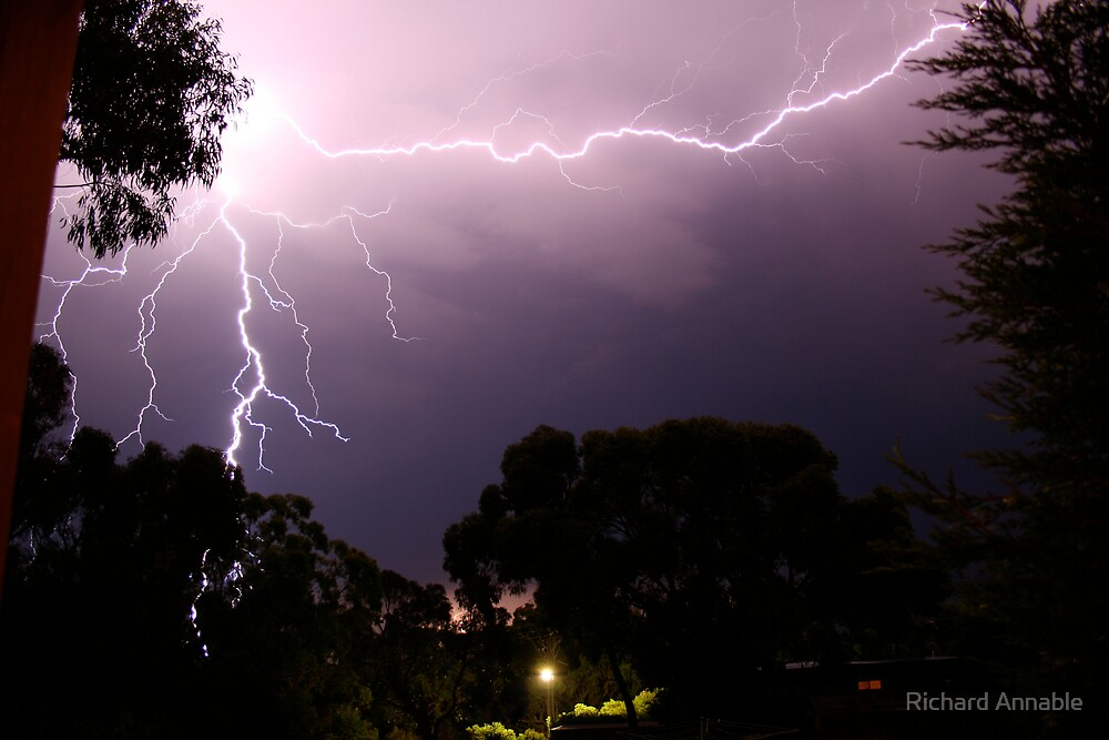 Lightning Strikes by Richard Annable