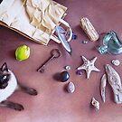 Bag of treasures by Elena Kolotusha