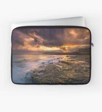Yaverland Beach Sunset Laptop Sleeve
