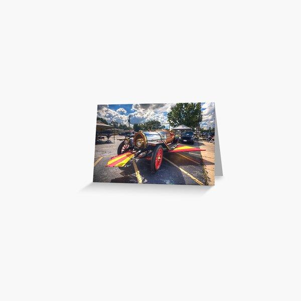 Chitty Chitty Bang Bang Car Greeting Card