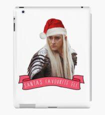 Santa's Favourite Elf - Thranduil iPad Case/Skin