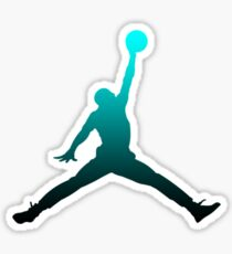 Michael Jordan Logo Sticker