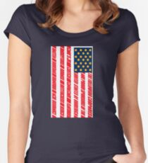 St. God Bless Uhmerica (Idiocracy) Women's Fitted Scoop T-Shirt