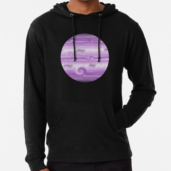 Purple Gas Giant Lightweight Hoodie