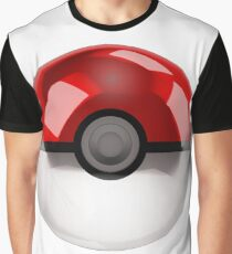 Pokeball - Pokemon Graphic T-Shirt