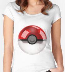 Pokeball - Pokemon Women's Fitted Scoop T-Shirt