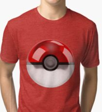 Pokeball - Pokemon Tri-blend T-Shirt