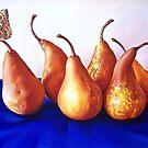 """""""Pears"""" by Elena Kolotusha"""