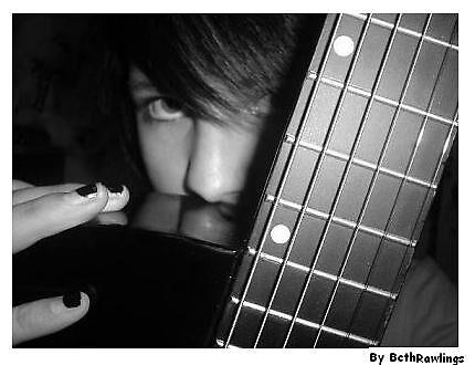 me and my guitar by elizabethrose05
