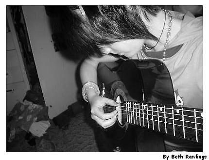 me and my guitar. 2 by elizabethrose05