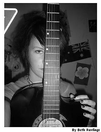 me and my guitar. 3 by elizabethrose05