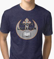Rogue Librarian Tri-blend T-Shirt