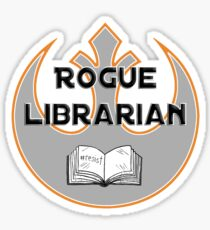 Rogue Librarian Sticker