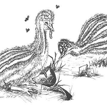 The Chicks Feast by Rayjun