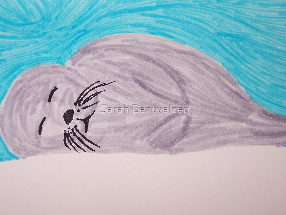Save The Baby Seals by Sarah Bentvelzen