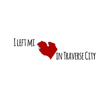 I left my heart in Traverse City by NobleImages