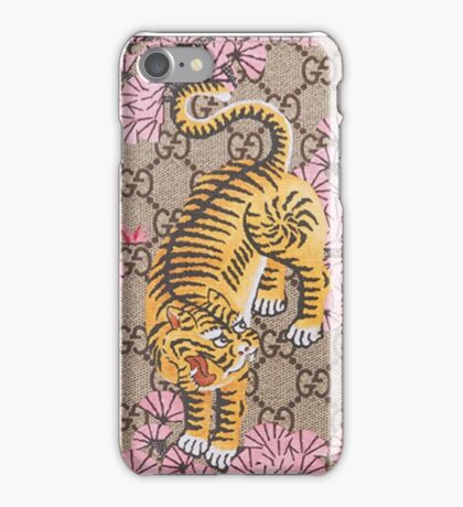 Gucci Tiger Pattern iPhone Case/Skin
