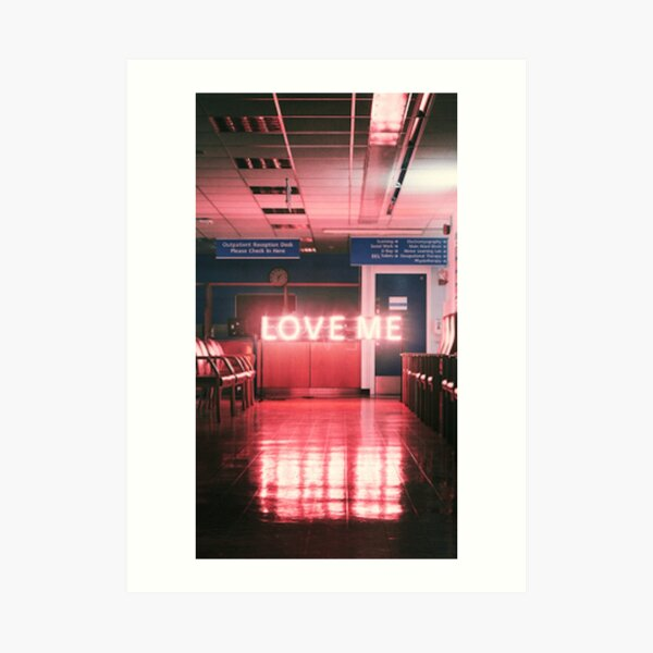 "The 1975 ""Love Me"" Art Print"
