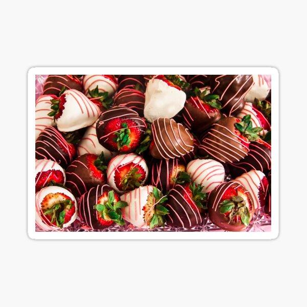 Chocolate Strawberry Decadence!  Sticker