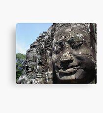 The Faces of Avalokitesvara Canvas Print