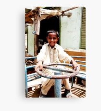 children of the slums #3 Canvas Print