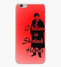 I believe in sherlock Holmes - red iPhone Case