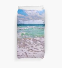 Atlantic Ocean On Florida Beach Duvet Cover