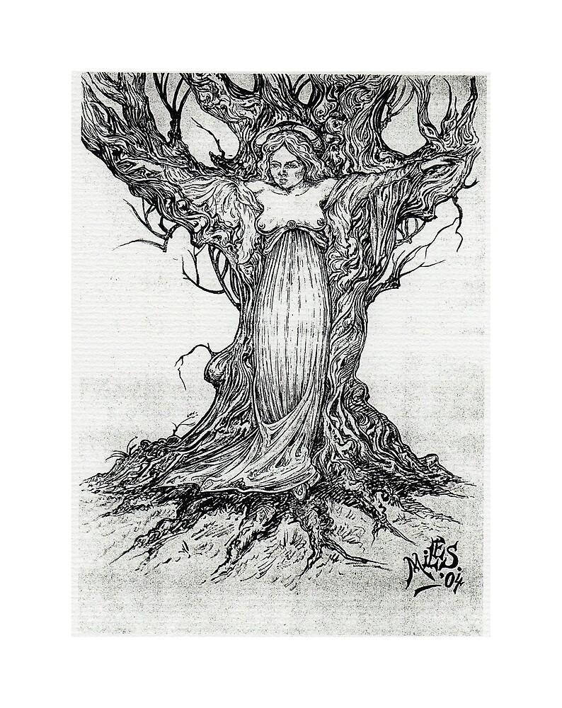 Crucified Venus by VENUSdeMILO