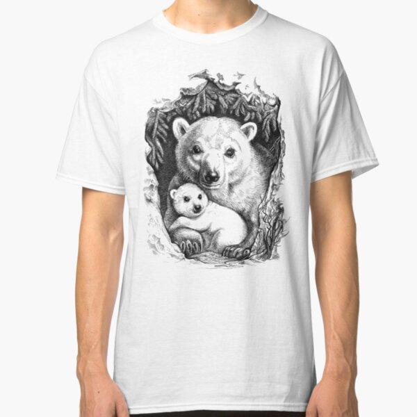 Eisbär Familie Classic T-Shirt