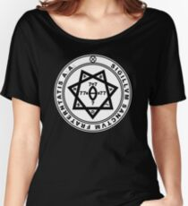 Aleister Crowley Seal - Occult - Thelema Women's Relaxed Fit T-Shirt