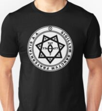 Aleister Crowley Seal - Okkultismus - Thelema Slim Fit T-Shirt