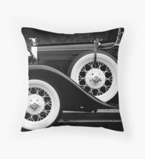 Vintage Car - Circa 1930s Throw Pillow