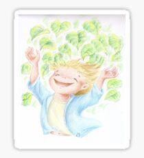 """Illustrazione per """"Filippo e gli alberi"""" Sticker"""