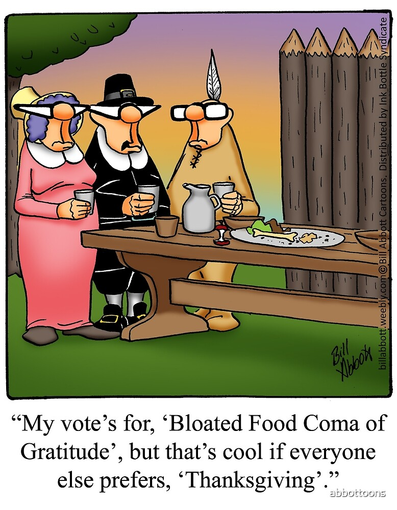 """""""Funny """"Spectickles"""" Thanksgiving Cartoon"""" by abbottoons ..."""