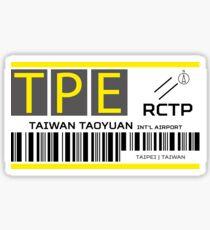 Destination Taipei Airport Sticker