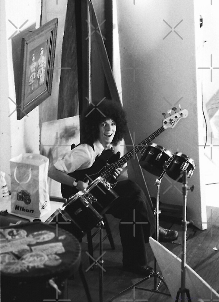 Stylus 1 - Bass Guitarist by C J Lewis