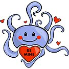 Octopus Valentine by elledeegee