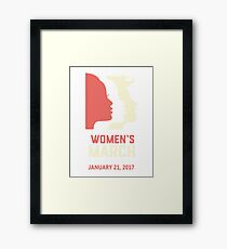 Women's march  Framed Print
