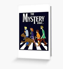 scoobydoo mystery machine  Greeting Card