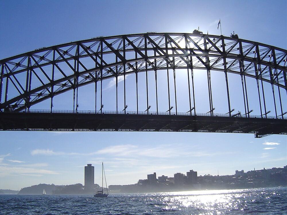Dreamy Sydney Harbour Bridge by judy