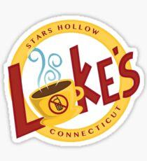 Luke's Sticker