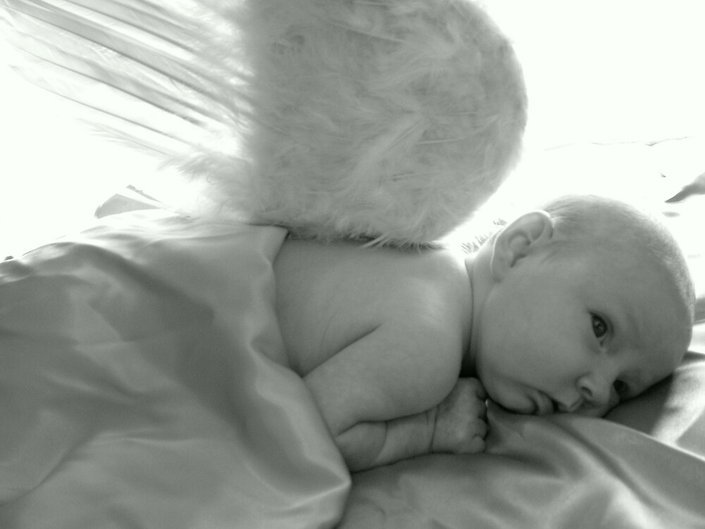 Angelic Baby by monicav62
