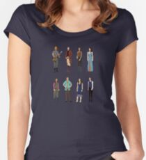 Pixel Firefly Women's Fitted Scoop T-Shirt
